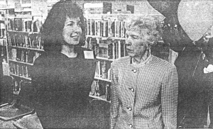Linda Snyder and Peg Heggan