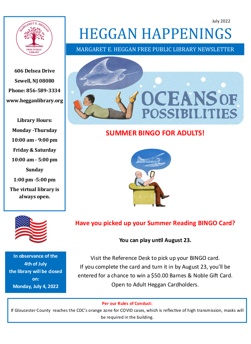 Read the Newsletter!